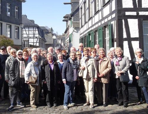 Tagestour nach Hellenthal zur Orgelbaufirma Weimbs und nach Monschau