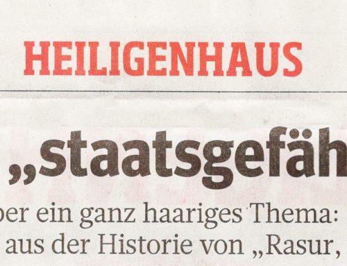 """Aussstellung Heimatkundliches Museum Heiligenhaus – """"Rasur, Frisur & Kosmetik"""""""