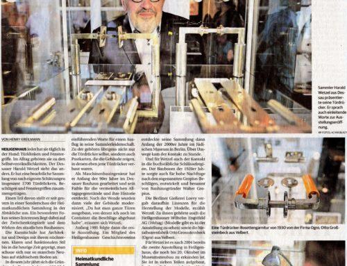 Ausstellung Bauhaus Drücker – Pressebericht Rheinische Post vom 22.07.2019