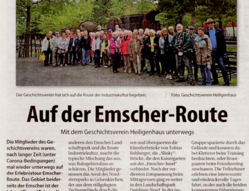 Auf der Emscher-Route – Stadtanzeiger – Lokal Kompas 4. Sep. 2021