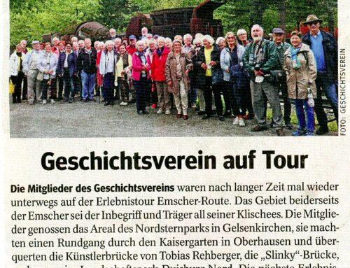 Geschichtsverein auf Tour – WAZ – 9. Sep. 2021